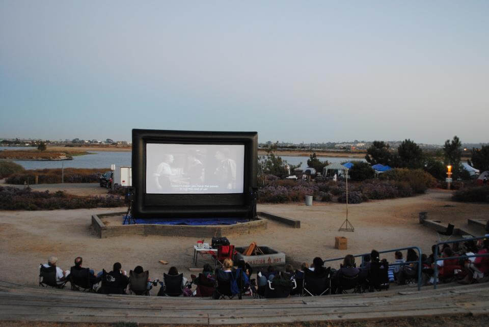 WHEN DOES YOUR OUTDOOR MOVIE ACTUALLY START?