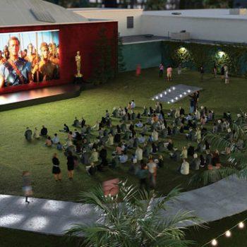 Outdoor Movie Screen Rental