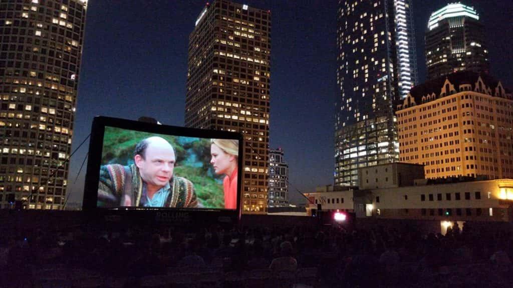 Rent Movie Screen